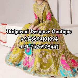 Lehenga For Reception Bride