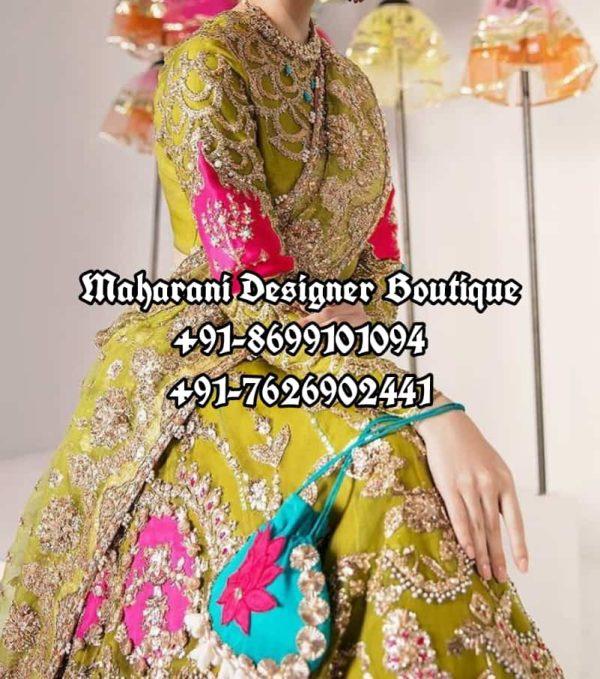 Lehenga For Reception Bride USA