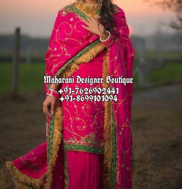 Punjabi Style Salwar Kameez Canada