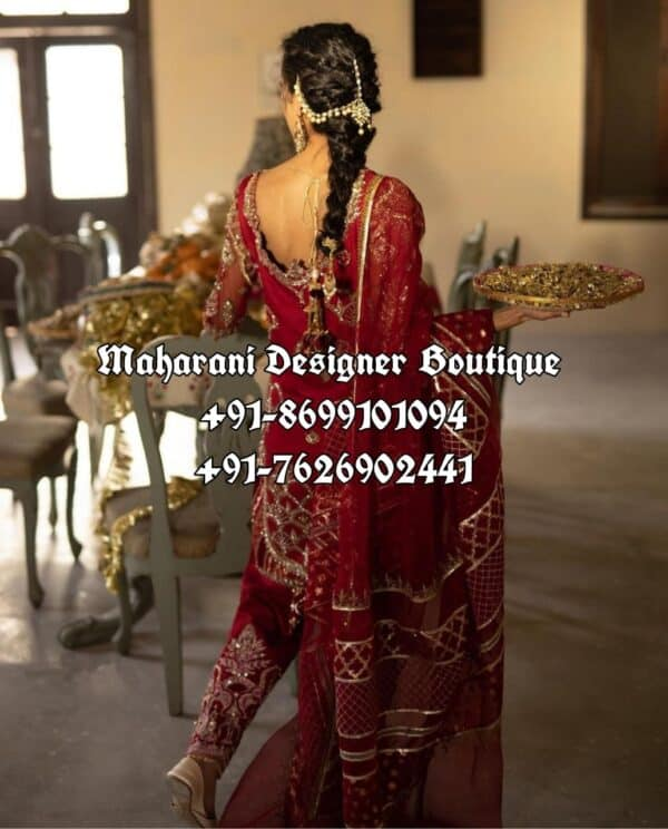 Punjabi Wedding Suits For Bride