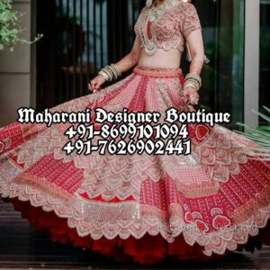 Red Lehenga For Bride USA Australia