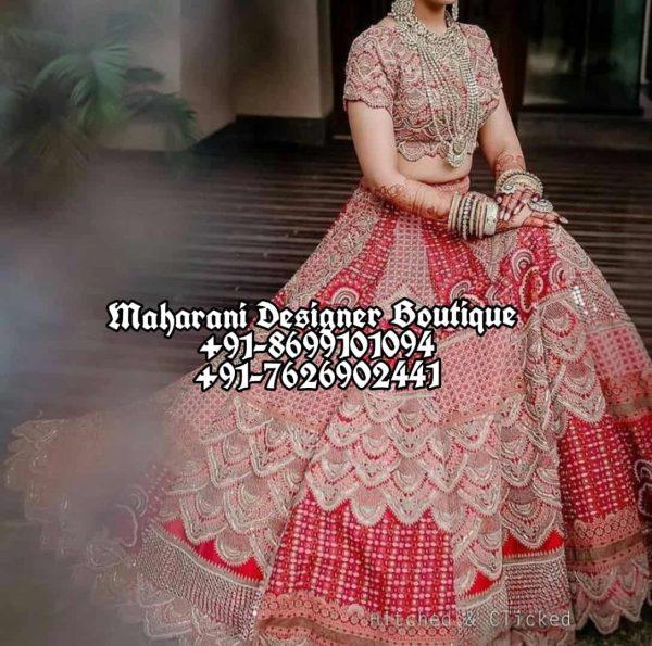 Red Lehenga For Wedding USA