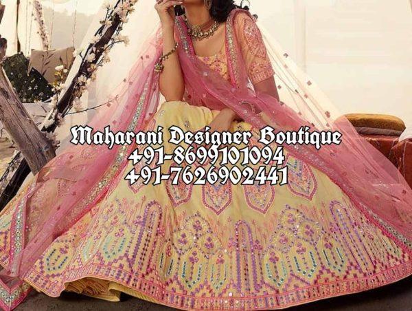 Wedding Designer Lehenga USA