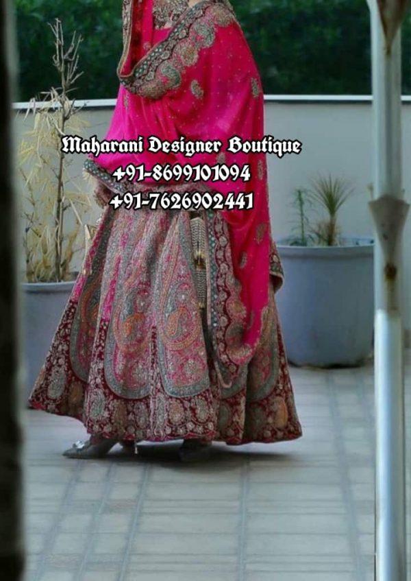 Wedding Lehenga For Bride Canada USA