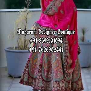 Wedding Lehenga For Bride UK Australia USA