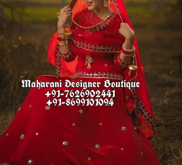 Red Wedding Lehengas Designs UK USA