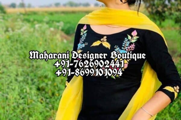 Designer Party Wear Punjabi Suits
