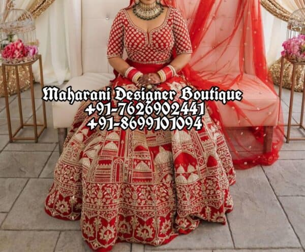 Indian Wedding Lehenga For Bride USA
