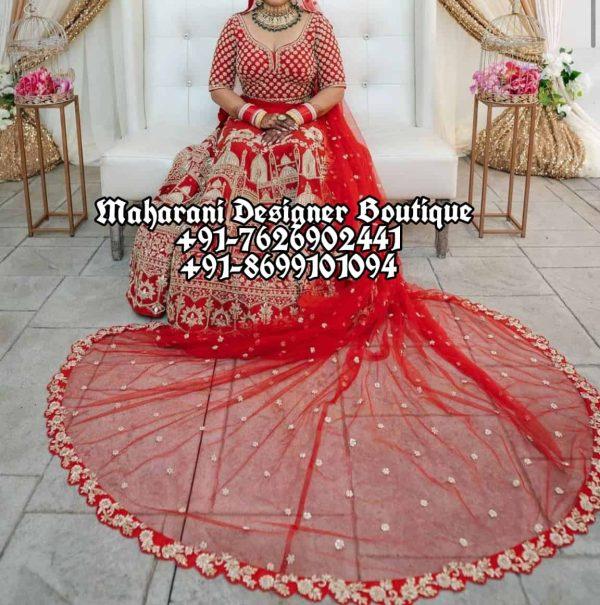 Indian Wedding Lehenga For Bride USA Canada