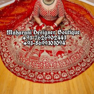 Indian Wedding Lehenga For Bride USA Canada Australia UK