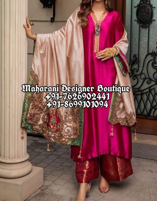 Party Wear Suits With Palazzo Canada