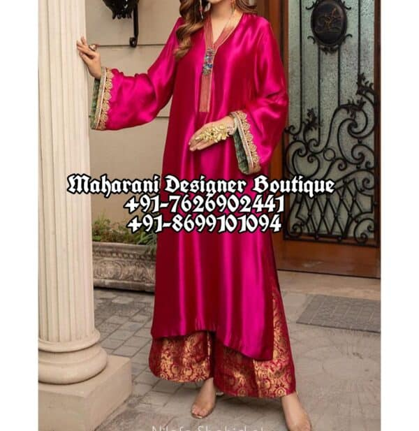 Party Wear Suits With Palazzo Canada UK
