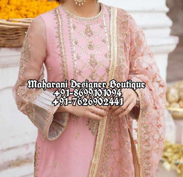 Punjabi Suits With Plazo Canada
