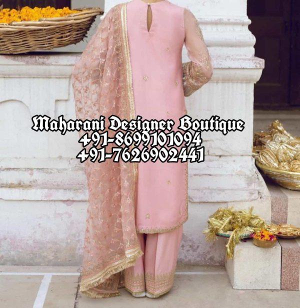 Punjabi Suits With Plazo Canada USA